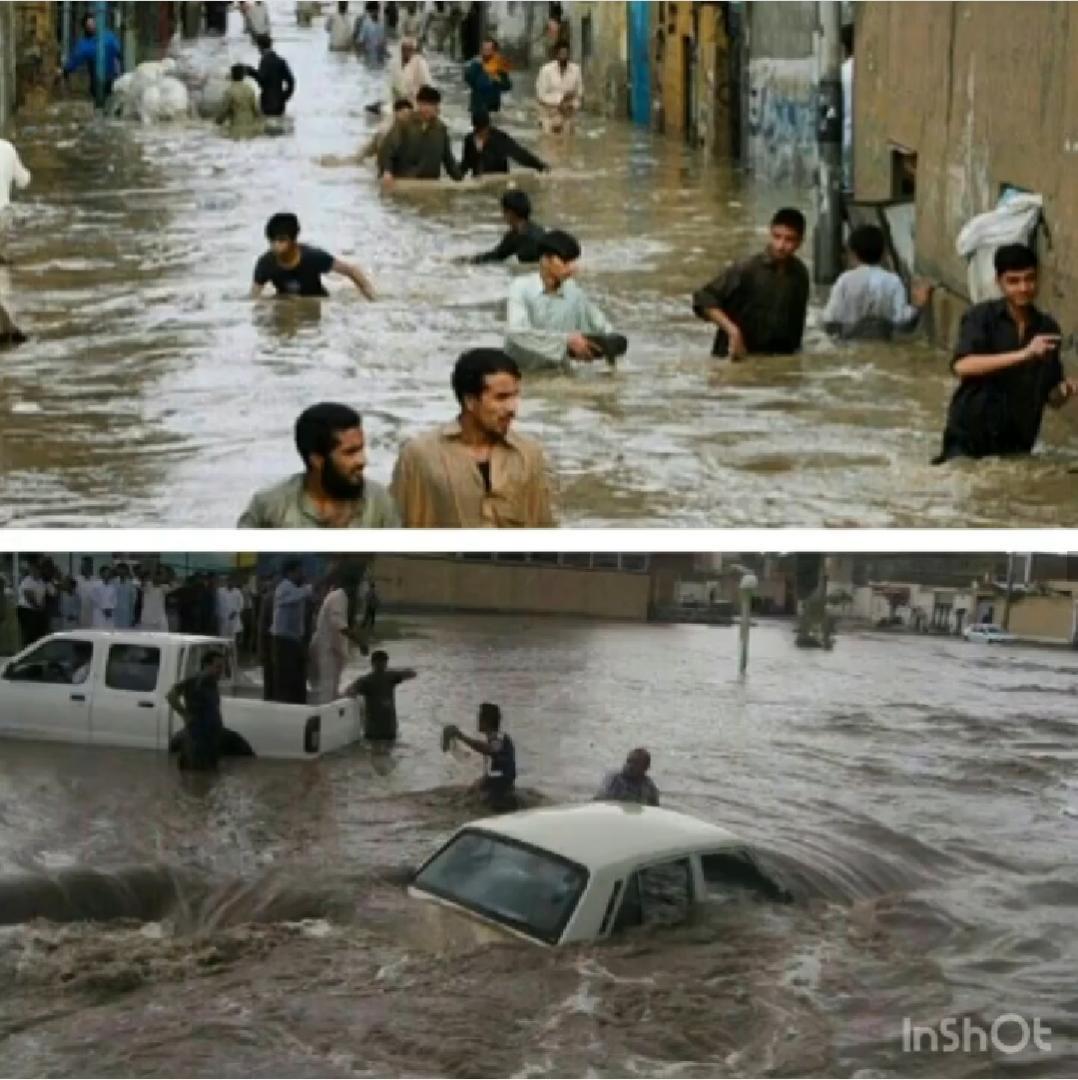 Image result for عکس هایی از سیل سیستان و بلوچستان